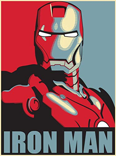 IRON MAN - US Imported Movie Wall Poster Print - 30CM X 43CM Brand New Marvel -