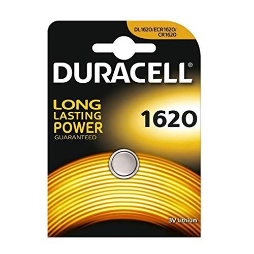 Duracell Batterie Elektronik 1620 Lithiumknopfzelle (CR1620) 3,0V 1St (Cr Batterie 1620 3v)