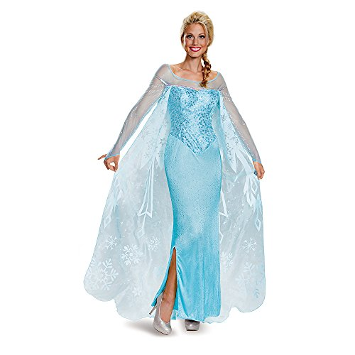 Disney Frozen Elsa Prestige Adult Costume Small ()