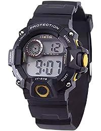 Xmansky Reloj despertador multifunción luminoso reloj de los niños reloj deportivo impermeable reloj electrónico de moda
