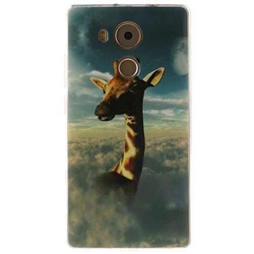 Meet de Caso / copertura / Telefono / sacchetto Per Huawei Mate 8 PU Pelle (Giraffe Corda)