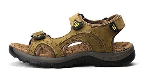Hishoes, Sandali sportivi uomo Khaki