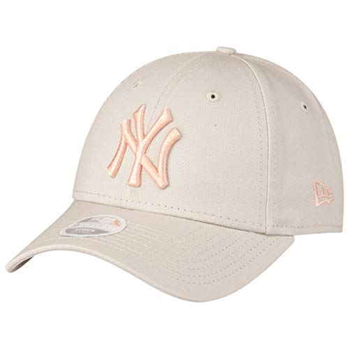 New Era League Essential 9Forty Adjustable Cap NY Yankees Grau Rosa, Size:ONE Size