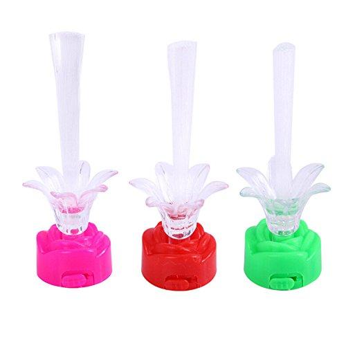 Yagii Luminous LED Rose Licht Glow in The Dark-Spielzeug Glänzend Bunt Licht Baum Spielzeug Party Favors Pädagogisch Spielzeug für Kinder