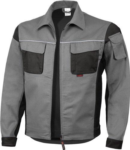 Qualitex–Giacca professionale pro MG 245–diversi colore grigio - Grigio - grigio/nero