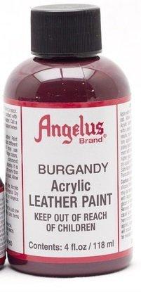 Angelus cuir peinture 4 Oz Bourgogne