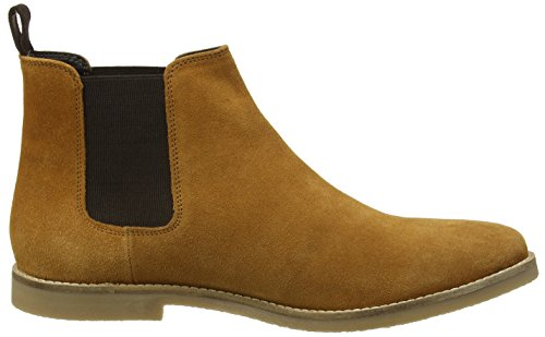 New Look Crepe, Bottes Chelsea homme Brown (Mid Brown)