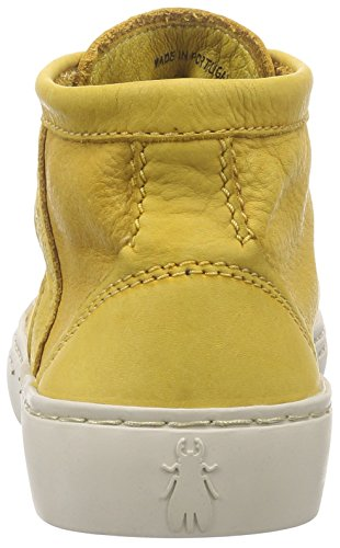 Fly London - Skea230fly, Sneaker alte Donna Giallo (Gelb (MUSTARD 002))