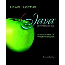 Java Software Solutions: Foundations of Program Design plus MyProgrammingLab with Pearson eText -- Access Card (7th Edition) 7th (seventh) Edition by Lewis, John, Loftus, William published by Addison-Wesley (2011)