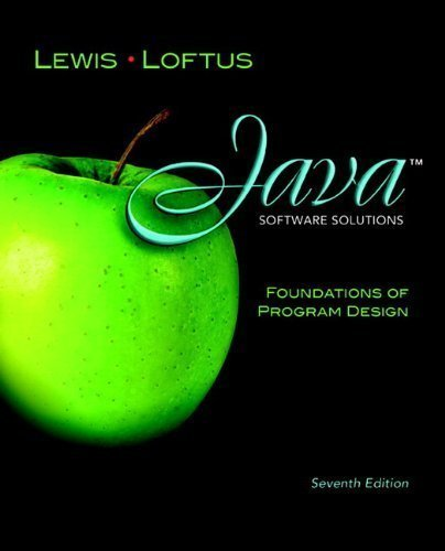 java-software-solutions-foundations-of-program-design-plus-myprogramminglab-with-pearson-etext-acces