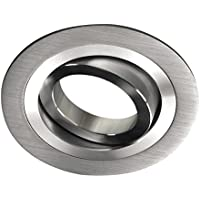 Wonderlamp Classic - Foco empotrable redondo aluminio