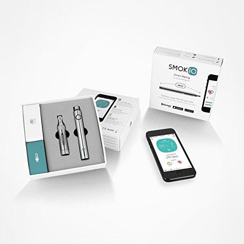 SMOKIO SKIOM1SLVR Kit Mini Smart Inhalator Silber