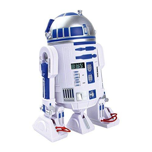 Small Foot Company 9356 - Wecker - Star Wars, R2 -D2 mit 3D -Anzeige