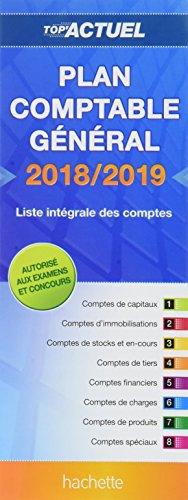 Top'Actuel Plan Comptable 2018-2019 par Daniel Sopel