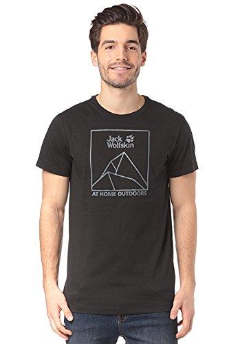 Jack Wolfskin Peak T Herren Größe L Schwarz (Die Peak-6000)