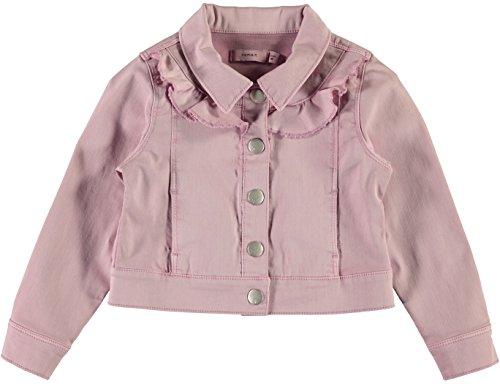 NAME IT Mädchen Jacke NMFAGIRA Twill Jacket 13150773 Dawn pink Gr.86 -