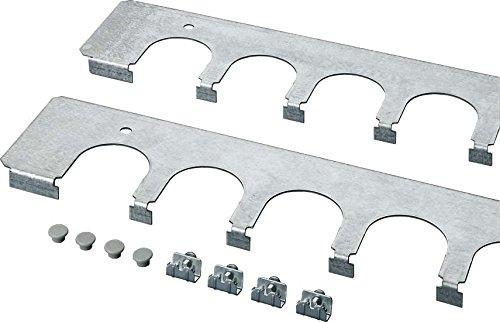 Rittal 4320.700-kabelführungsblende Zubehör Rack-Rack-Zubehör (Kabelmanagement Panel, grau, Stahl, 2Stück (S), TP, 600mm) -