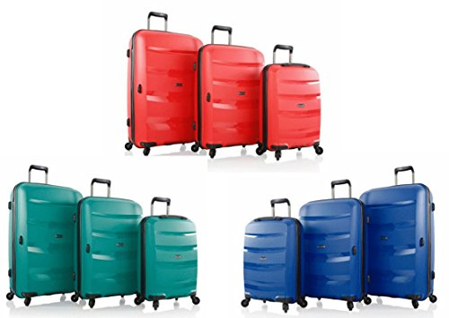 Hey , Set di valigie rosso Red 3 pc - Small -Medium - Large