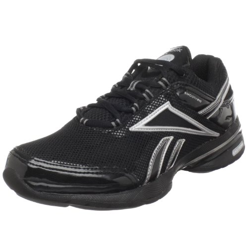 Reebok Easytone Ree, Womens Indoor Court Shoes, Black (Black/Silver), 40.5