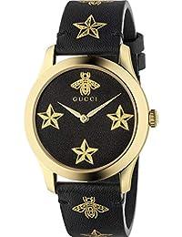 Reloj Gucci YA1264055 Negro Acero 316 L Mujer 0f506a5ba8b