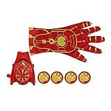 Kitechildhiid Super Heroic Figure Cartoon Guanto Launcher Giocattoli per Bambini Costume Bambino Gioco Prop Iron Iron Man