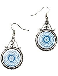 Desigual - Boucles d'oreilles pendantes - Plaqué argent - Global Traveller - 74G9ED95000U