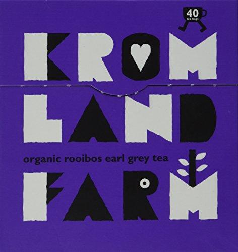 Kromland Farm Organic Rooibos Earl Grey Tea (40 Bags/100g)