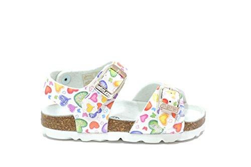 Grunland bambino Sandali scarpe bambina bianco SB0424 20