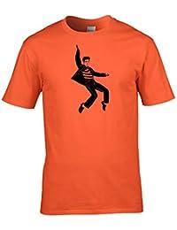 King of Rock n Roll Dancing hips- Herren T-Shirt Graphic aus Fett Kuckuck