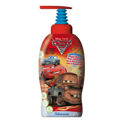 Disney 71634 Bagno Doccia, Cars 2, Rosso