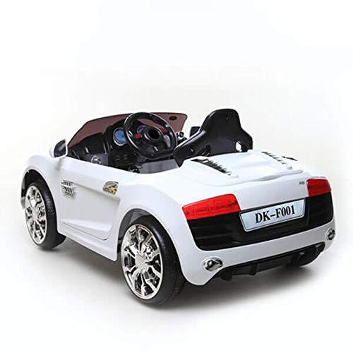 Moni Kinder Elektroauto Viper DK-F001 mit Fernbedienung, Stoßdämpfer, Leistung 2x35W weiß