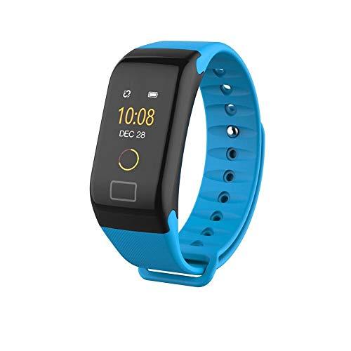 wasserdichte Farbbildschirm Uhr Herren Sportuhr Mode Gesunde Blutmessung Blutdruck Überwachung Herzfrequenz Fitnessuhr 2 - Modell Analyse Business