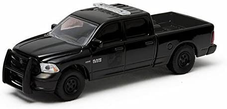 Dodge RAM 1500, noire/Décorer, 2014, 2014, 2014, voiture miniature, Miniature déjà montée, Greenlight 1:64 | Coût Modéré  e0b197