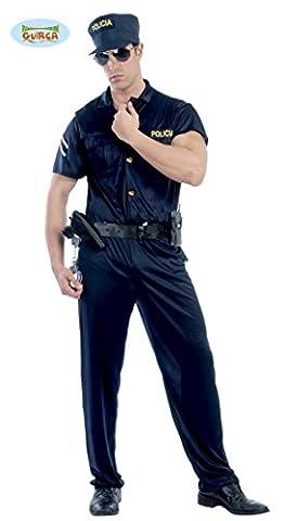 sexy Cop - Kostüm für Herren Gr. M/L, Größe:M/L