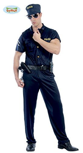 sexy Cop - Kostüm für Herren Gr. M/L, (Halloween Cop Uniform)