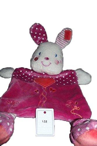 Kiabi–Doudou Nicotoy Kiabi conejo plana rosa corazón...