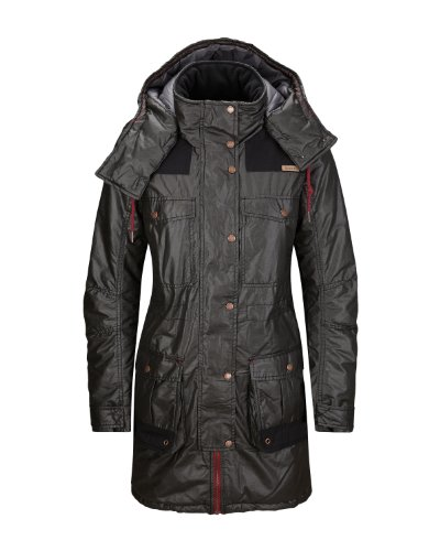 Bench Damen Jacke Parka Merriment schwarz (black (BK001)) Small