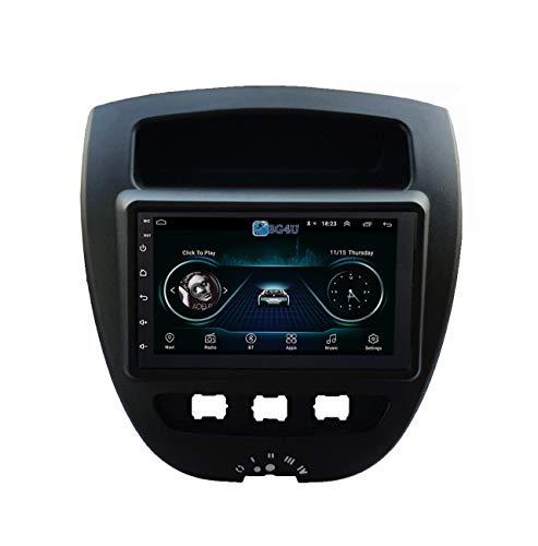 Navegación coche radio Citroen C1 Peugeot 107 Toyota Aygo, Android OS, 6.2
