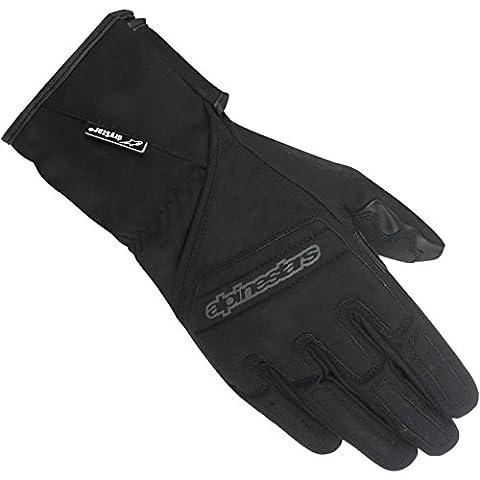 Motorcycle Alpinestars Stella SR-3 Drystar Gloves Ladies WP Black XS UK Seller