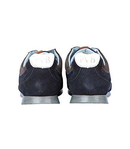 Floris van Bommel , Chaussures de ville à lacets pour homme 00 blue