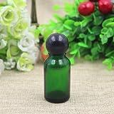 Generic 15ml Essential Oil Bottle Empty Cream Jars Cream Jars Cosmetic Empty Cosmetic Packaging Travel Bottles Refillable Bottle Light Green 15ml
