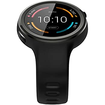moto smartwatch. motorola moto 360 sport smartwatch - black d