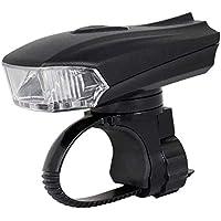 Nologo - Linterna frontal inteligente para bicicleta con sensor de movimiento