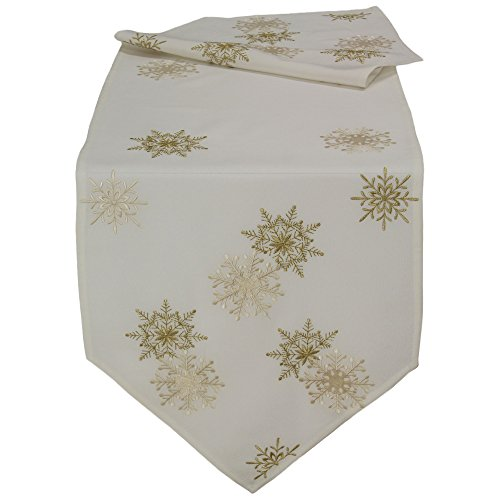 quinnyshop-golden-fiocchi-winter-table-runner-16-inch-by-55-inch-40-x-140-cm-effetto-lino-colore-pan
