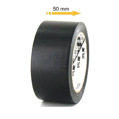 ruban-adhesif-vinyle-3m-764-noir-50mm
