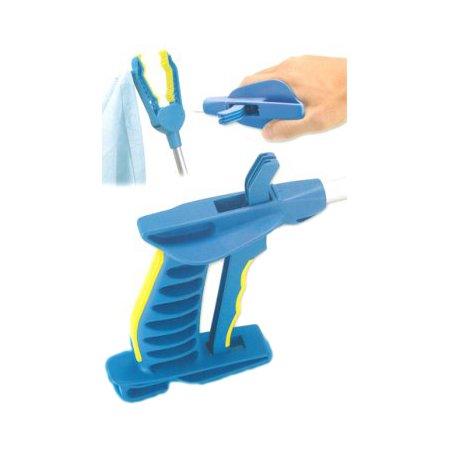 Falke Greifzange m. Softgriff blau/ gelb. 60cm, Greifhilfen