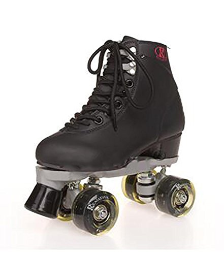 Roues de patin à roulettes pour adultes Quad cute intérieur/extérieur quatre roues Flash , black , 41