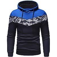 Geili Kapuzenpullover Herren Basic Pullover Sweatjacke Kordelzug Hoodie Sweatshirt mit Tasche Modern Camouflage... preisvergleich bei billige-tabletten.eu