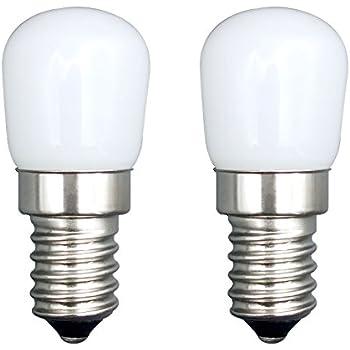 E14 Bulb 2 Pcs SFTlite E14 SES LED Bombilla Pigmeo 1.5W 120LM Bombilla Ahorro Energía Blanco Fresco[Equivalente 15W Bombilla Halógeno] Para el ...