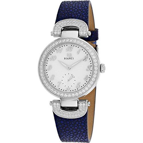 Roberto Bianci Women's Alessandra 31mm Blue Leather Band Quartz Watch RB0612